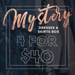 4 Dresses for $40 in a Mystery Box